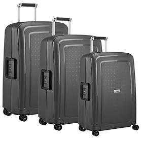Samsonite S'Cure DLX Trolleys graphite 4 R.