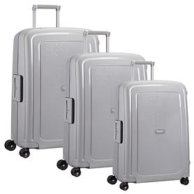 Samsonite S'Cure Trolleys silber 4 Rollen