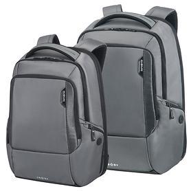 Samsonite Cityscape Laptop-Rucksack, steel grey, erweiterbar