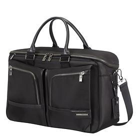 Samsonite GT Supreme, 32,5 cm, Weekend-Laptop-Tasche, 14,1, schwarz, erweiterbar