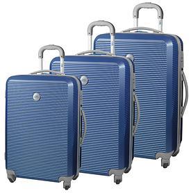 Ciak Roncato Lounge II Trolleys blu navy 4 Rollen