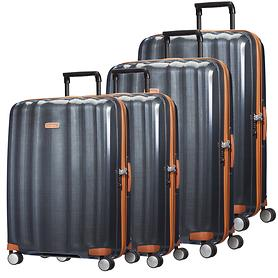 Samsonite Lite-Cube DLX Trolleys midnight blue 4 Rollen