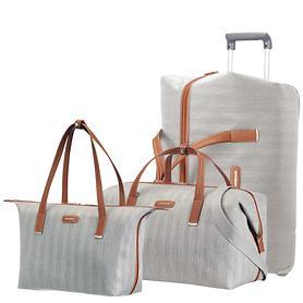 Samsonite Lite DLX Reise- und Handtasche ash grey