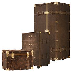 Ciak Roncato Vintage Home Luxury Truhenkoffer, Truhe und Schrankkoffer