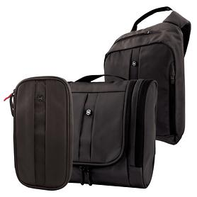 Victorinox Lifestyle Accessories 4.0 Rucksack, Organizer & Toilet Kit schwarz