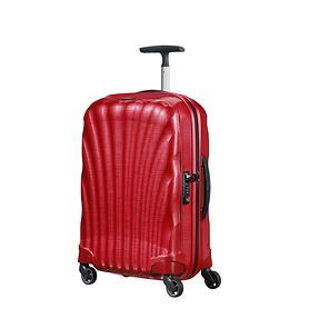 Samsonite Cosmolite, 55 cm, Trolley, rot, 4 Rollen, Kabinengepäck