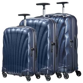 Samsonite Cosmolite Trolleys 4 Rollen & Beautycase, midnight blue