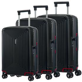 Samsonite Neopulse Trolleys, matte black, 4 Rollen