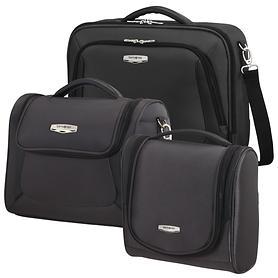Samsonite X'Blade 3.0 Toilet Kit, Laptop shoulder bag & Beautycase, schwarz