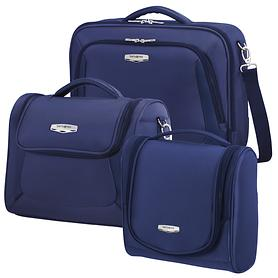 Samsonite X'Blade 3.0 Toilet Kit, Laptop shoulder bag & Beautycase, blau