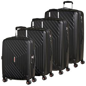 American Tourister Air Force 1 Trolleys, galaxy black, 4 Rollen