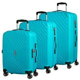 American Tourister Air Force 1 Trolleys, aero turquoise, 4 Rollen