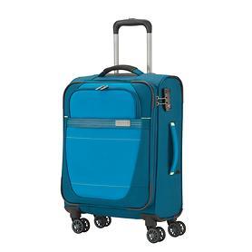 travelite Meteor, 55 cm, Trolley, petrol, 4 Rollen, Kabinengepäck