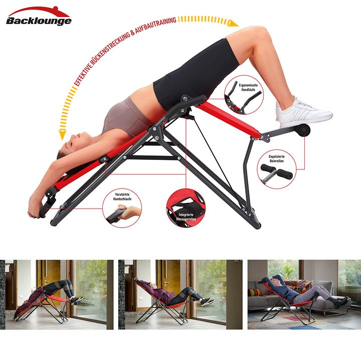 2-in-1 Inversionstrainer Backlounge