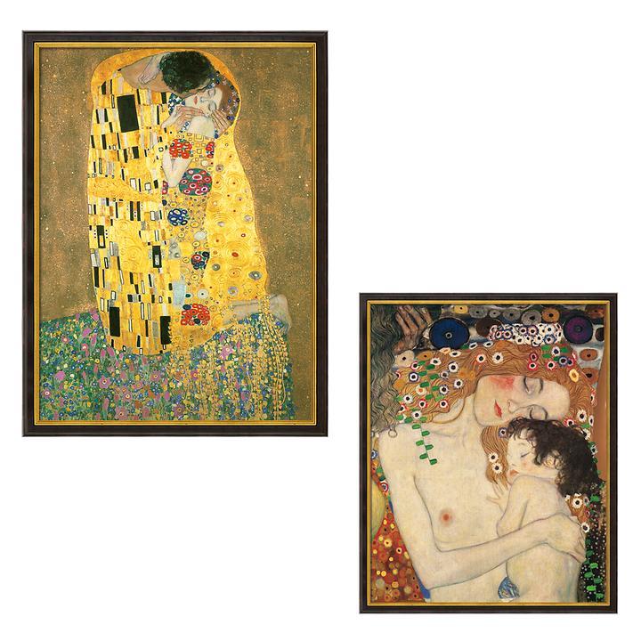 Bild Mutter und Kind & Der Kuss