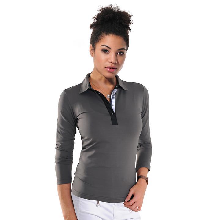 Langarm-Shirt Meryl steel Gr. 44