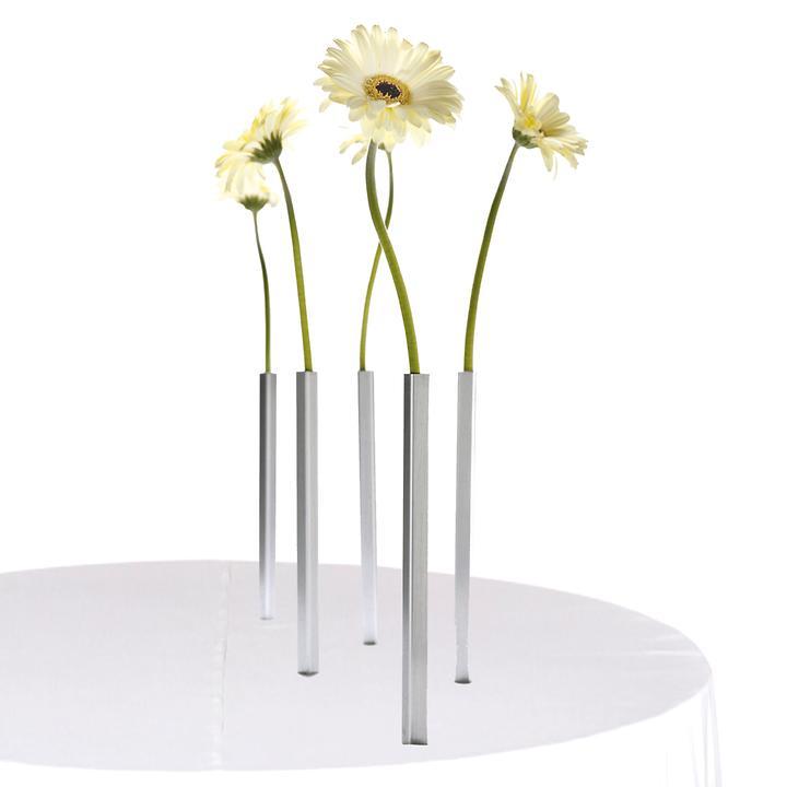 Magnet-Vasen 5er-Set