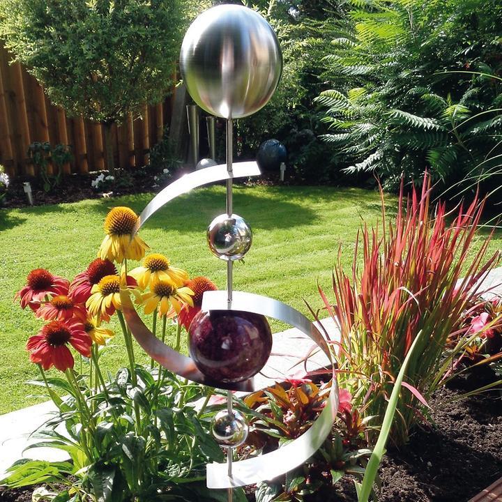nachhaltige garten kunst skulpturen pflanzen, edelstahl dekorationskugeln & edelstahl skulpturen | promondo, Design ideen
