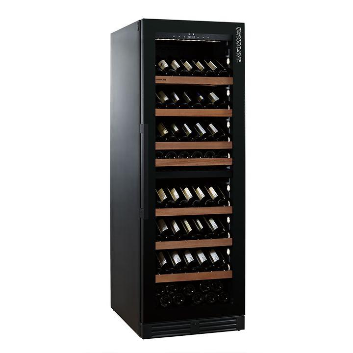 Zweizonen-Weinkühlschrank WLB 460DFLD BLACK EDITION mit Gastroausstattung