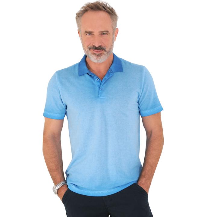Poloshirt Henrik blau Gr. M