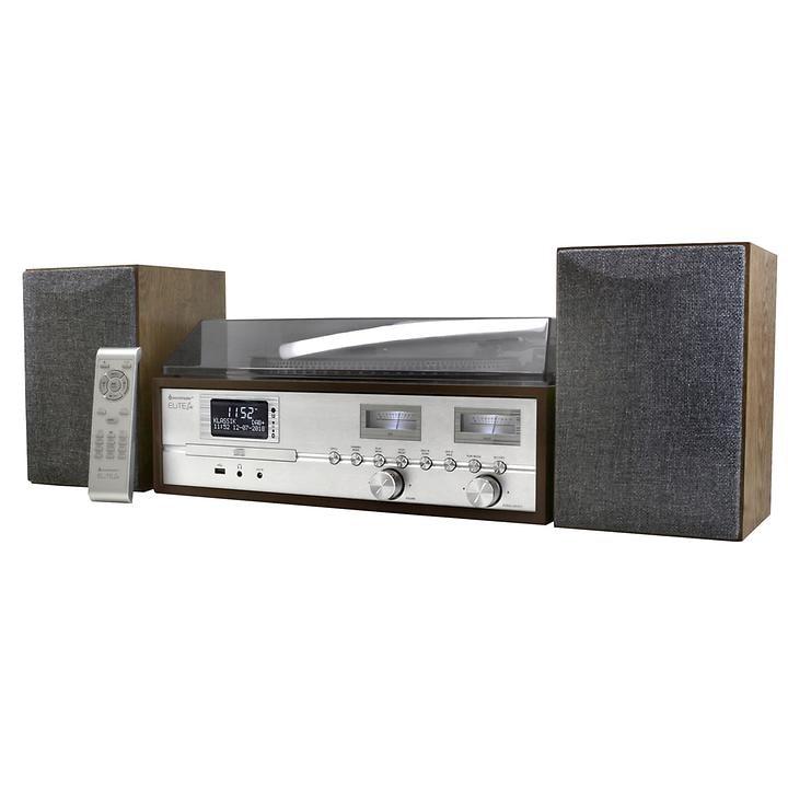 Retro-Hifi-Anlage mit DAB+ und Bluetooth PL880