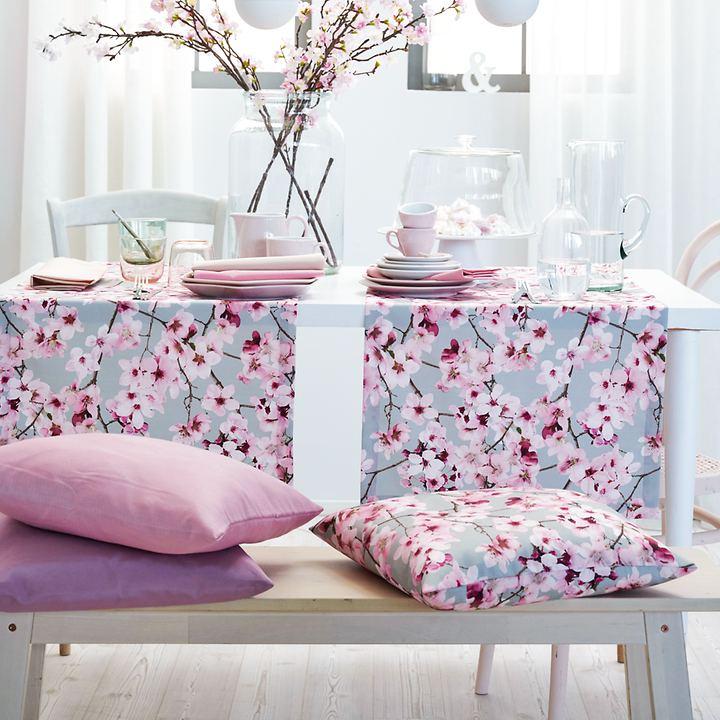Tischwäsche-Serie Kirschblüten