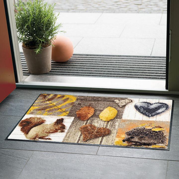 Fußmatte Herbstzeit