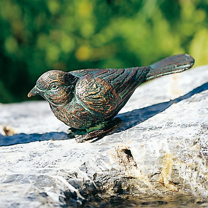 Skulptur Vogel rechts