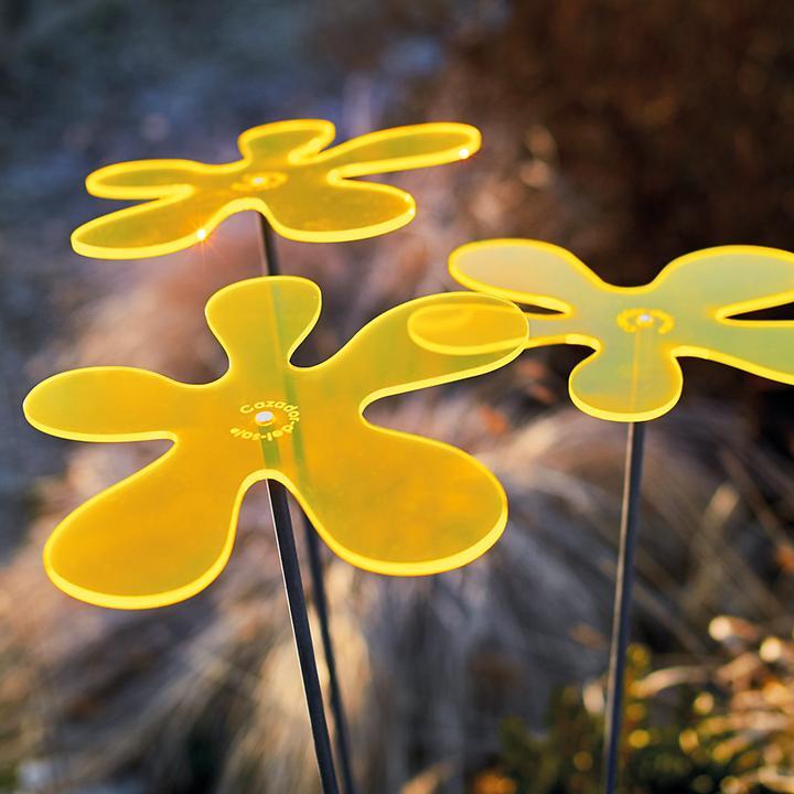 Sonnenfänger Lotta 3er-Set, gelb