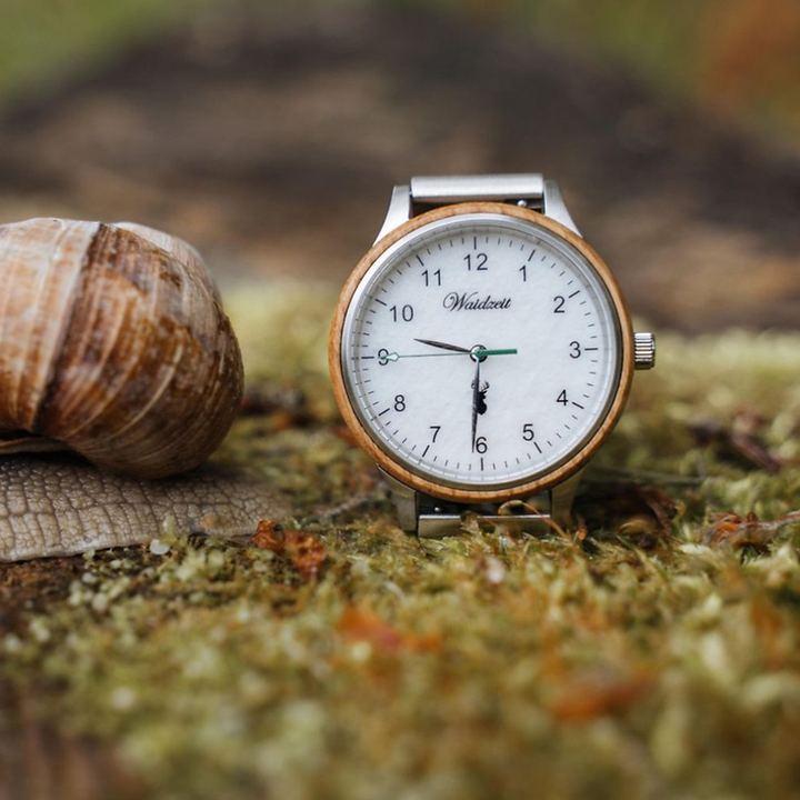 Holz-Uhren aus Barriquefässern