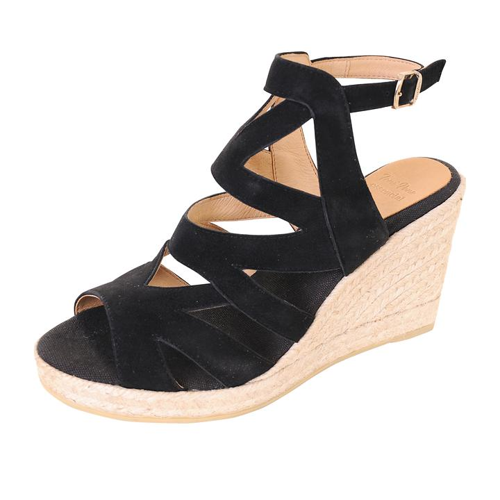 Sandalette Mirna Gr. 41 schwarz