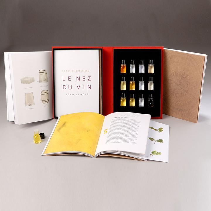 Le Nez du Vin Weinaromen - Barrique, mit 12 Aromen, nur in Englisch