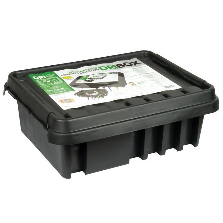 Outdoor-Kabelbox Dribox | Baumarkt > Elektroinstallation > Weitere-Kabel | Schwarz | Dribox