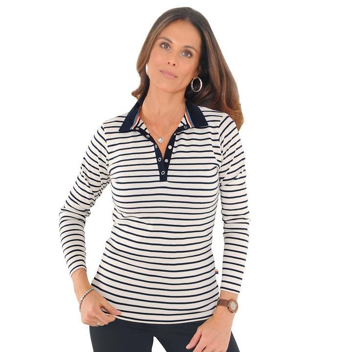 Poloshirt Breton