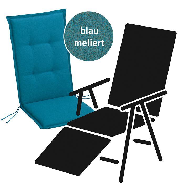 Relaxauflage Selection-Line blau
