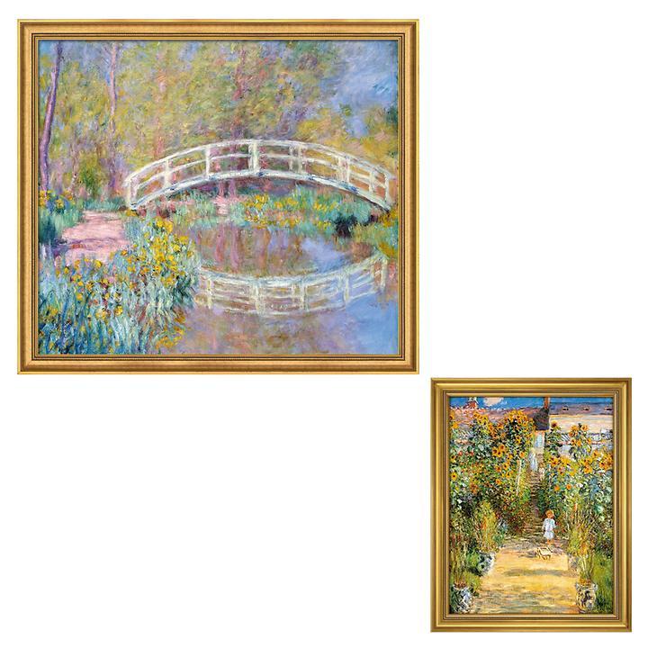 Bilder Le Jardin de Monet á Vétheuil & Brücke in Monets Garten