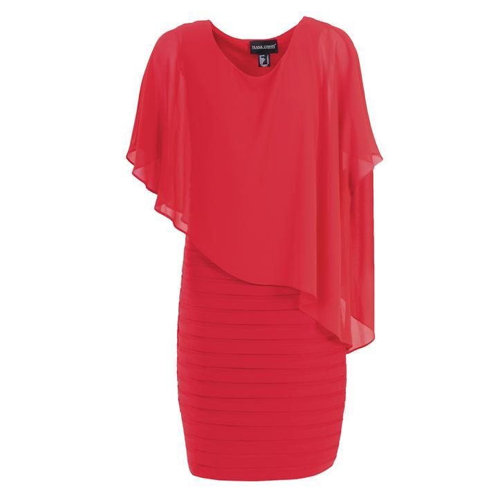 Kleid Sonya, rot, Gr. 44