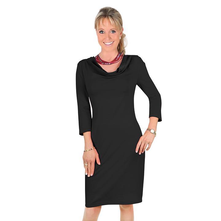 Kleid Julia schwarz, Gr. 46