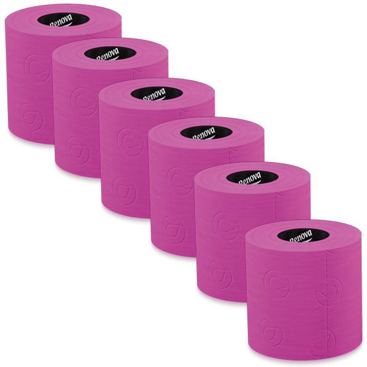 Toilettenpapier, 6 Rollen pink