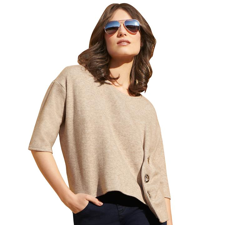 Pullover Olga beige Gr. 40
