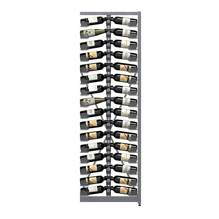 Weinregal Xi Rack 16: Anbaumodul, 16 Ebenen