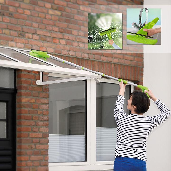 Sprüh-Fensterwischer