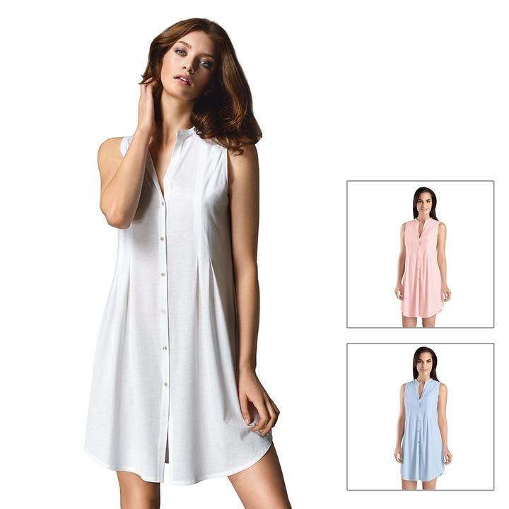 Leichtes Nachthemd aus feinster PIMA Baumwolle