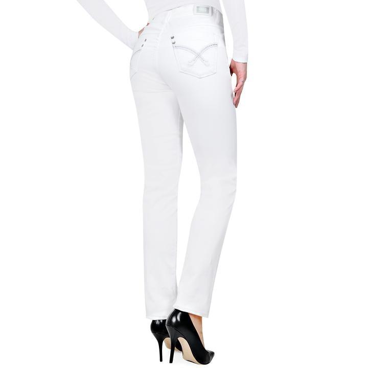 Elastsche 5-Pocket-Röhren Jeans