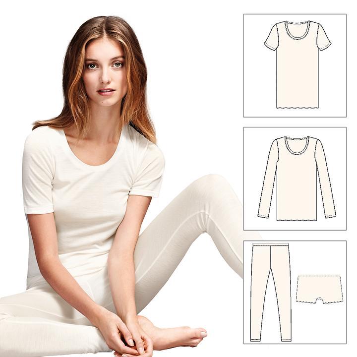 Wäsche-Serie Wool & Silk
