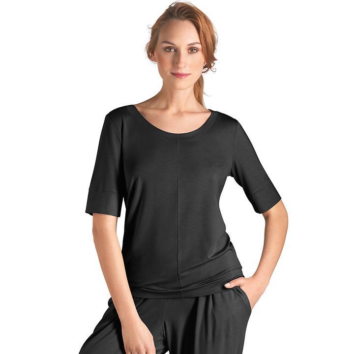 Shirt Yoga schwarz | Sportbekleidung > Sportshirts > Yogashirts | Hanro