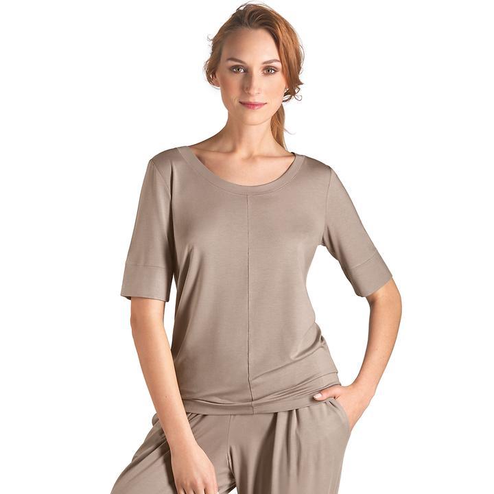 Shirt Yoga taupe | Sportbekleidung > Sportshirts > Yogashirts | Hanro