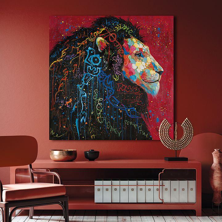 Bild Dotted Lion