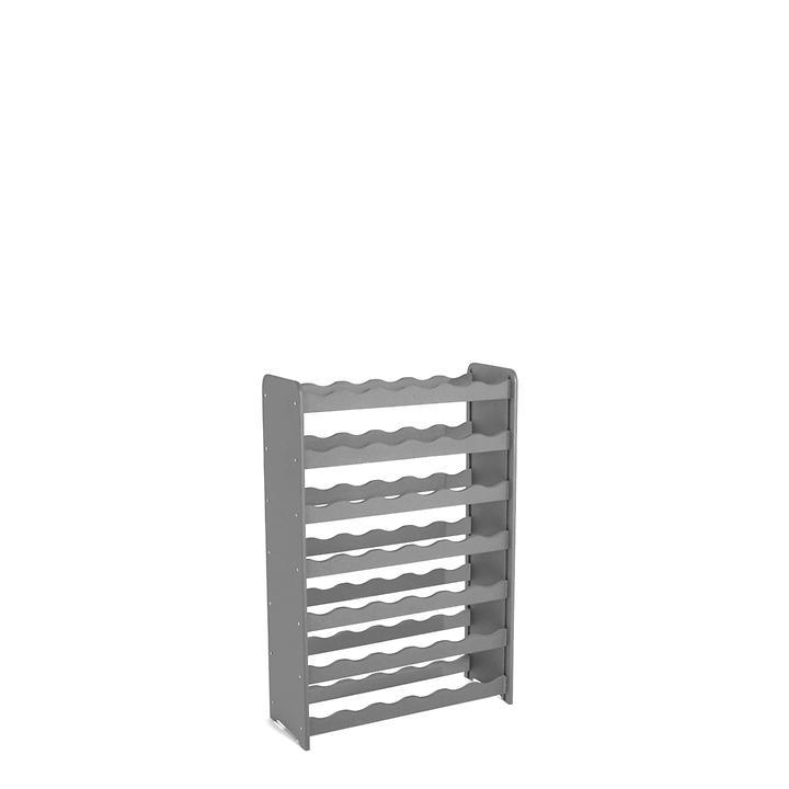 Weinregal OPTIPLUS Modell 1, graphit