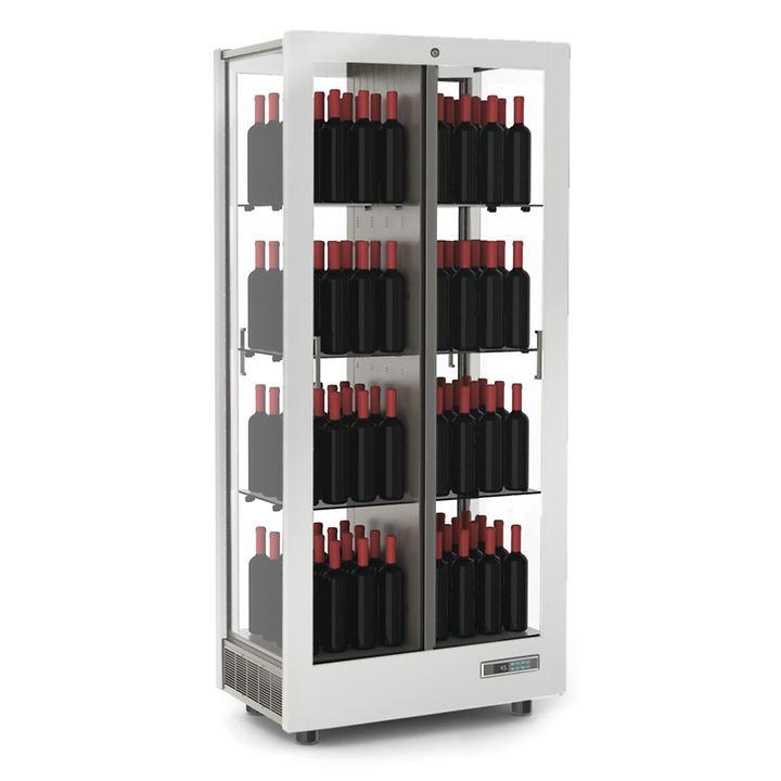 Weinkühlschrank TECA VINO, stehende Lagerung, matt weiß